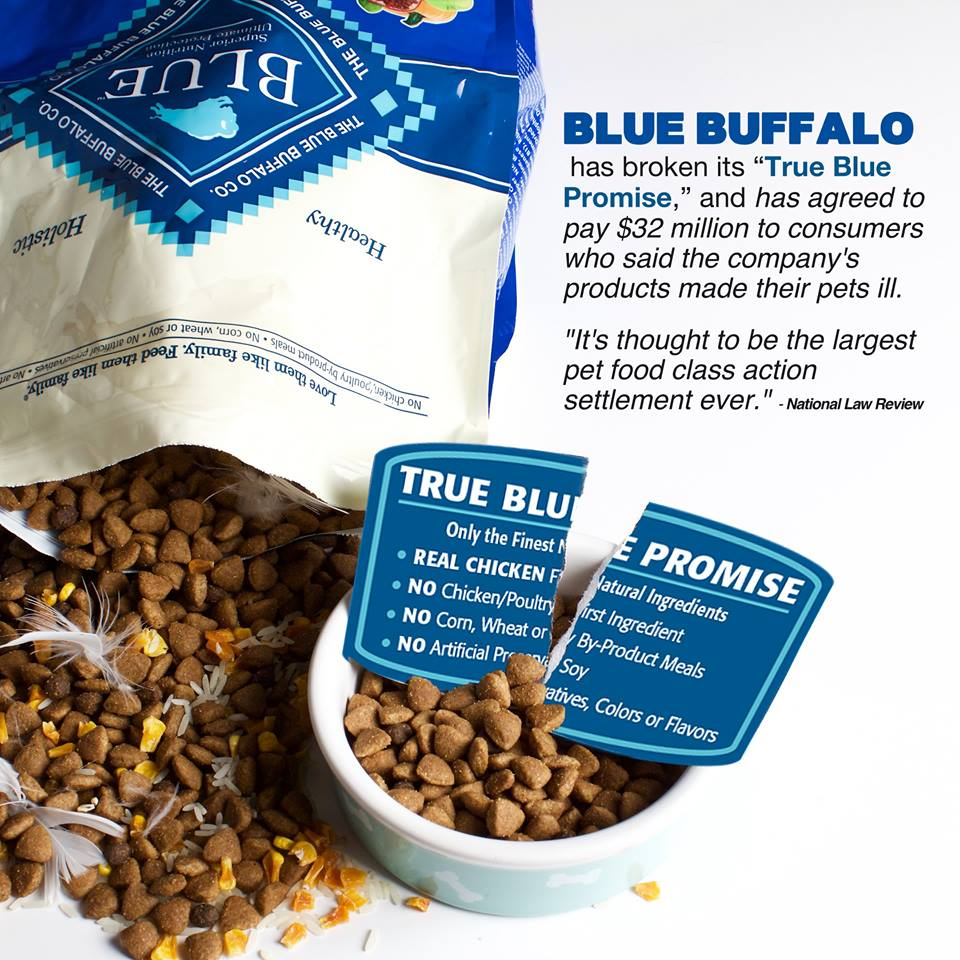 Heads up to avoid Blue Buffalo brand pet food... ~ DogPerDay ...